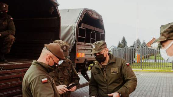 Żołnierze dostali polecenie