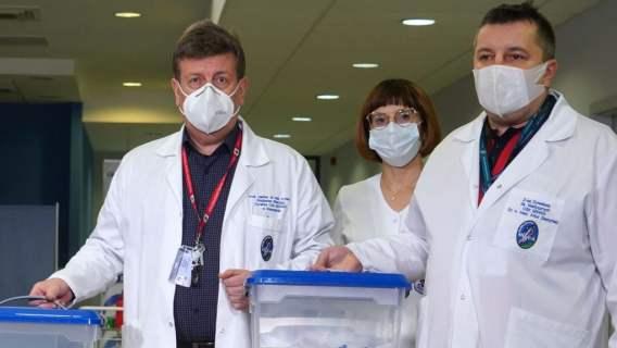 Wszystko poszło na żywo. Lekarz upomniał dziennikarzy obecnych w szpitalu, popełnili karygodny błąd