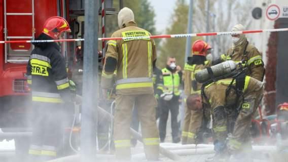 Informacje o pożarze
