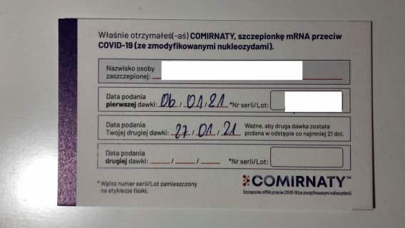 Student medycyny ujawnił kulisy szczepień przeciwko COVID-19