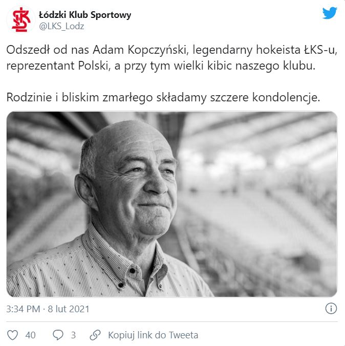 Adam Kopczyński nie żyje