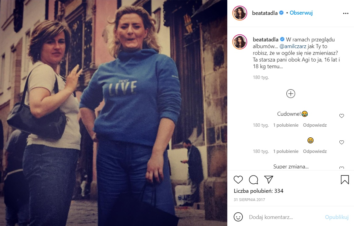 Beata Tadla przeszła metamorfozę