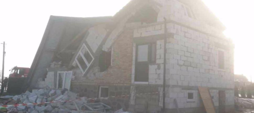 dom po wybuchu