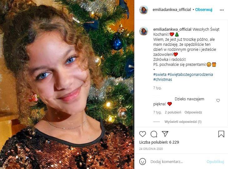 Emilia Dankwa wyrosła na piękną nastolatkę