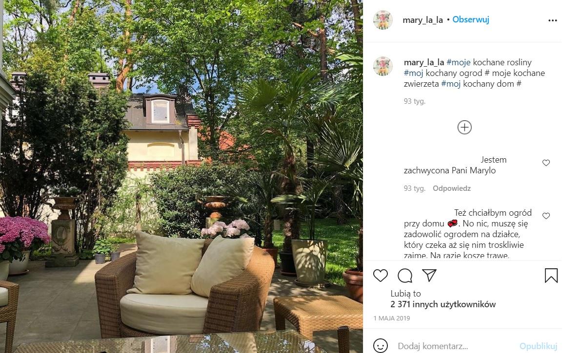 Maryla Rodowicz pokazała swój dom