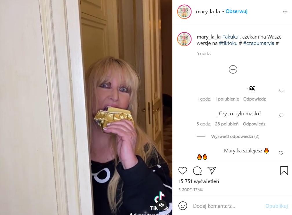 Maryla Rodowicz zaskoczyła fanów nowym nagraniem