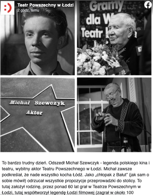 Michał Szewczyk nie żyje