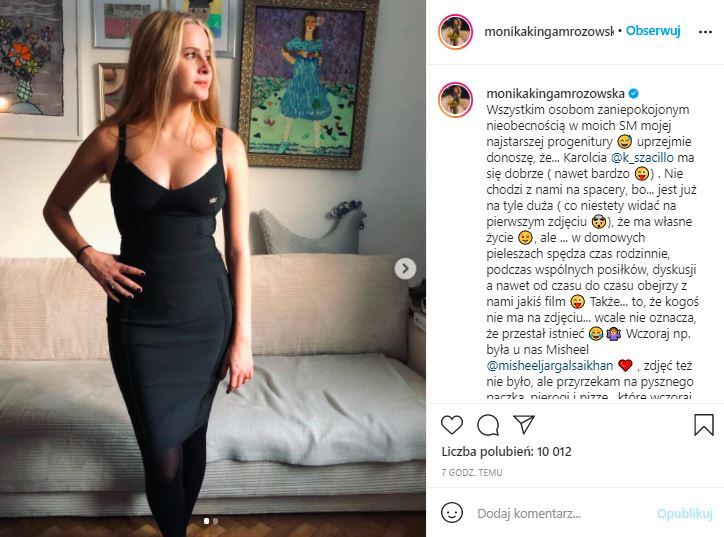 Monika Mrozowska pokazała córkę