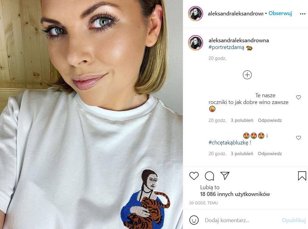 Ola Kwaśniewska opublikowała nowe zdjęcie na Instagramie