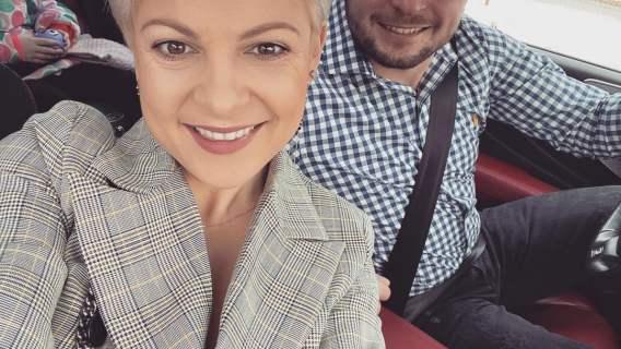 Magda Narożna z nowym partnerem