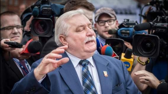 Lech Wałęsa nie wymaga