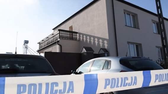 Widok na dom w którym dokonała się zbrodnia