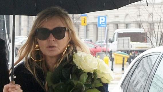 Monika Olejnik w żałobie