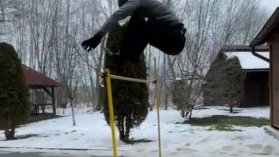 Piotr Żyła trening