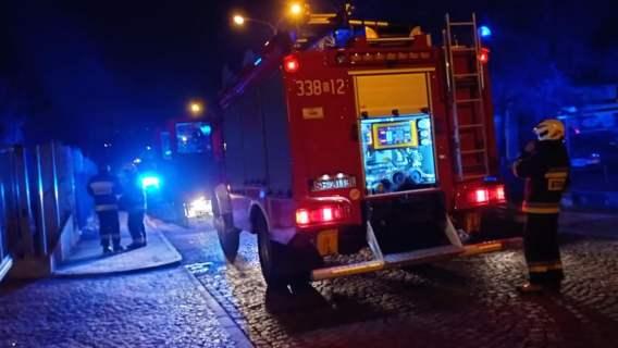 Pożar w szpitalu