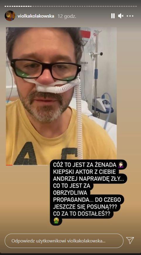 Andrzej Piaseczny trafił do szpitala