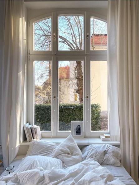 Kasia Tusk jej sypialnia