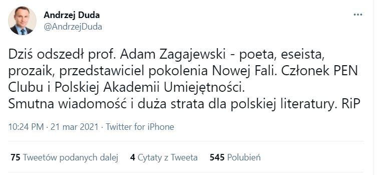 zagajewski