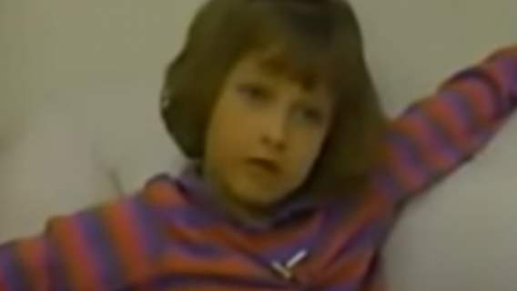 Beth Thomas jako dziecko
