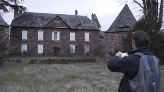 Opuszczony dom we Francji