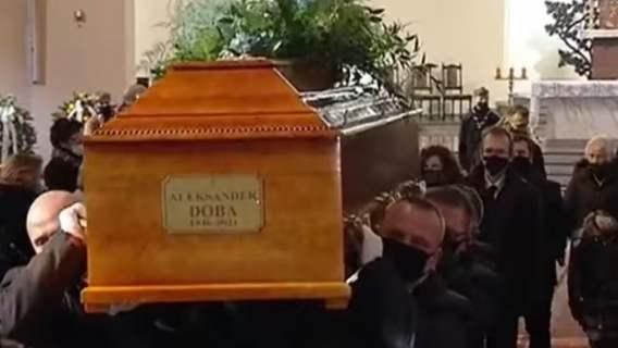 Pogrzeb Aleksandra Doby