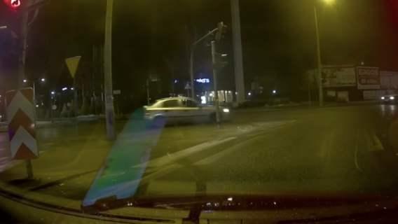 policja przypadkiem nagrał
