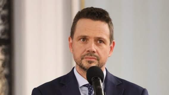 Rafał Trzaskowski żona zabrała