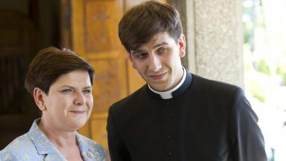 Syn Beaty Szydło chciał porzucić stan kapłański