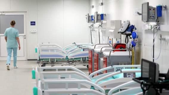 szpital tymczasowy coraz gorzej